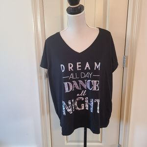 Dream All Day Dance all Night Tee
